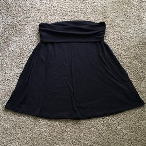 Old Navy, small, black polyester skirt